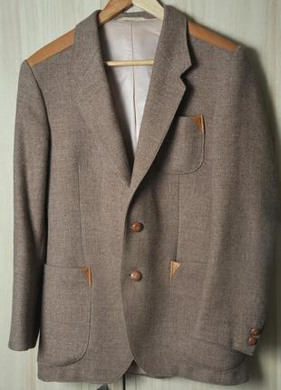 Теплый шерстяной пиджак + жилетка 👍👍👍