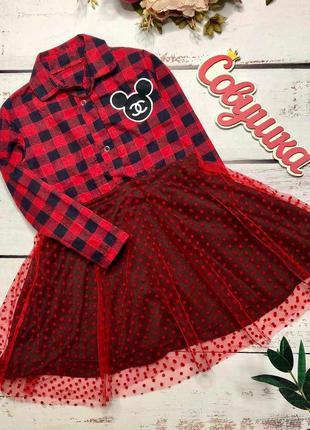Модное платье для девчонок