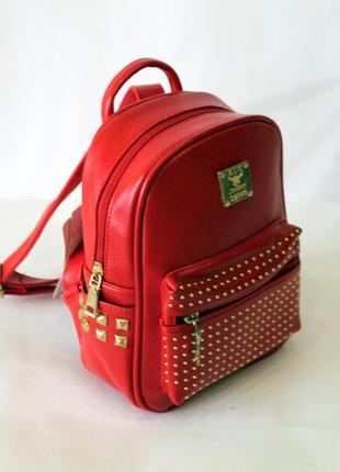 Рюкзак, ранец, маленький рюкзак, женский рюкзак, эко кожа, кра...
