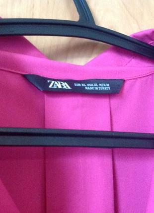 Платье рубашка zara p.xl