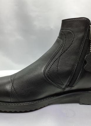 Распродажа!зимние ботинки-полусапоги на молнии rondo