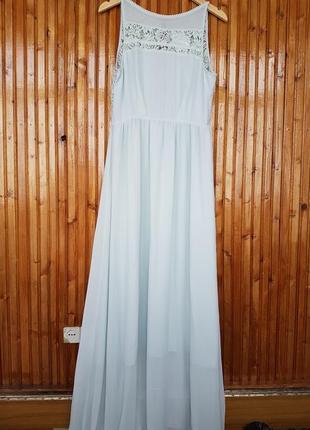 Длинное вечернее платье h&m