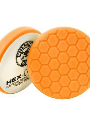Оранжевый пенополиуретановый полировальный круг He-Logic премиум