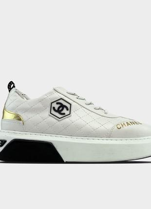 🔥 Chanel Sneakers White