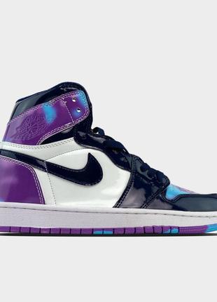 🔥 Nike Air Jordan 1 Purple White