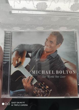Michael Bolton One world one love.Доставка бесплатная.