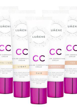 CC крем Lumene тональный крем CC Color Correcting Cream