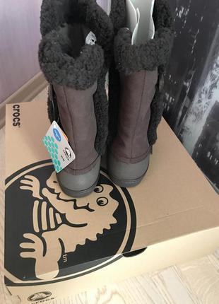 Сапоги crocs 38 размер новые