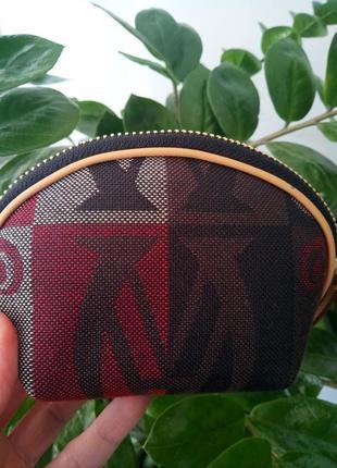 Текстильная косметичка wanlima на молнии 550-356