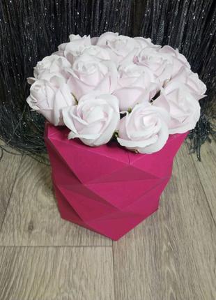 Букет, букет из роз, мыльный букет