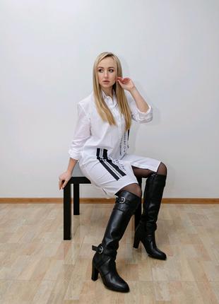 Рубашка-платье oversize