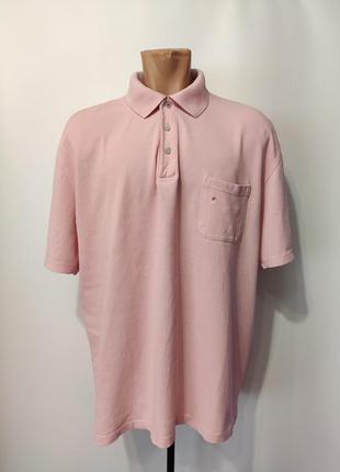 Daniel hechter мужское розовое поло