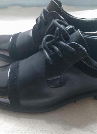 Шкіряні класичні туфлі для хлопчика