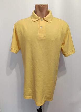 Marks & spencer жёлтое поло
