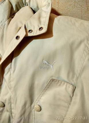 Куртка весенняя мужская puma
