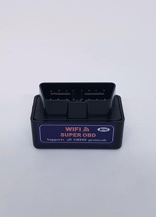 Автосканер адаптер OBD2 WiFi ELM327 v1.5 поддержка iOS и Android