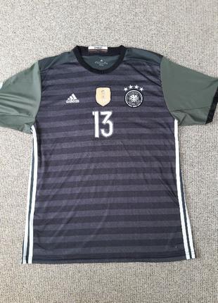 Футболка Adidas. Сборной Германии ЧМ-2014 . 13 Thomas Muller