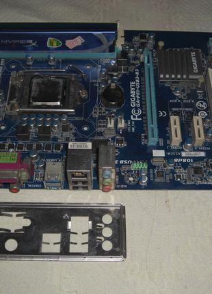 Celeron G550 + материнская плата Socket 1155 Gigabyte GA-P61-USB3