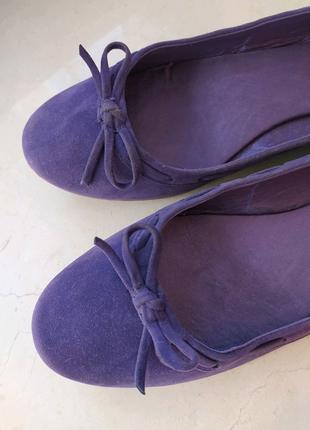 Фіолетові балетки Blink