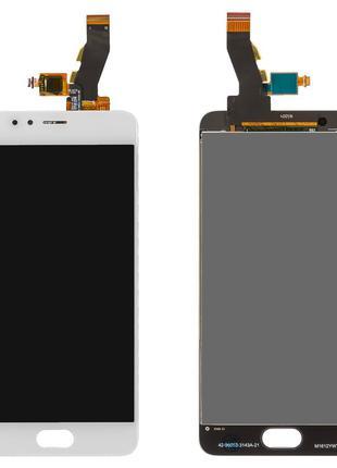 Дисплей Meizu M5s (M612) / M5s mini с сенсором белый