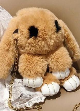 "Сумка - рюкзак в виде игрушки ""кролик"""
