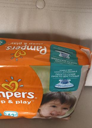 Pampers slip and play 5