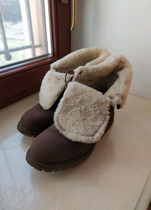 Зимові теплі чоботи Timberland