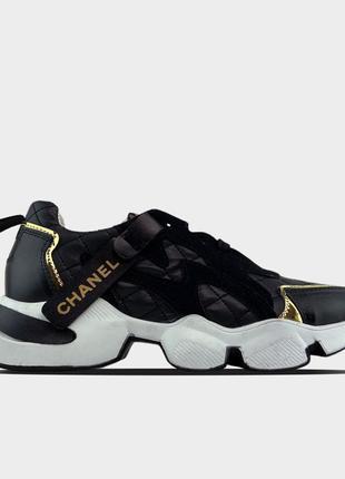 🔥 Chanel Sneakers Black
