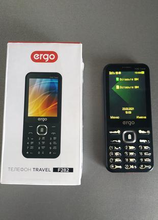 Телефон Ergo Travel F282 с функцией Павербанка 3100mАh Повербанк