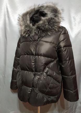 Куртка парка пуховик зимний
