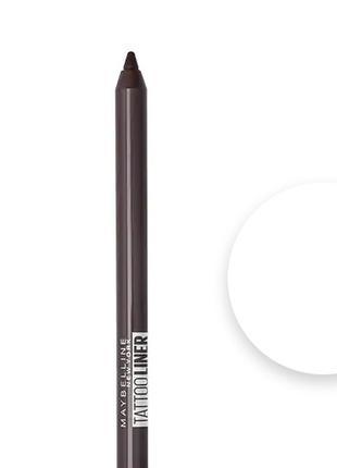 Гелевый карандаш для глаз Мейбеллин