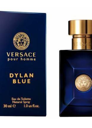 Туалетная вода для мужчин versace pour homme dylan blue 30 мл