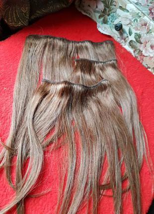 Парик трессы натуральные волосы