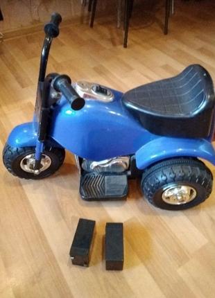 Электро скутер дитячий