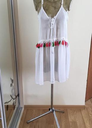 Красивенное платье парео boohoo