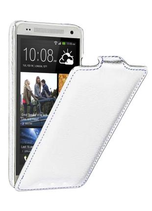Чехол Vetty Craft Slim Flip HTC One mini M4 Normal Series white