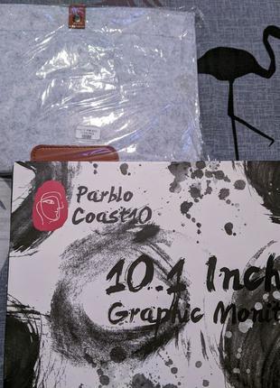 Графический монитор, планшет Parblo Coast 10 10.1 дюйма + чехол
