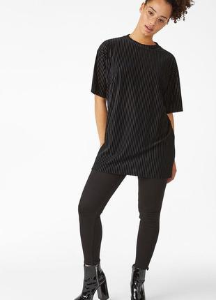 Туника, удлиненная футболка, велюровый топ, блуза