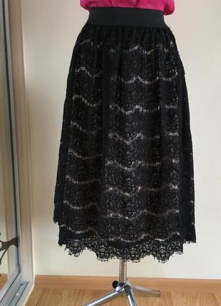 Прекрасная юбка с кружевом george