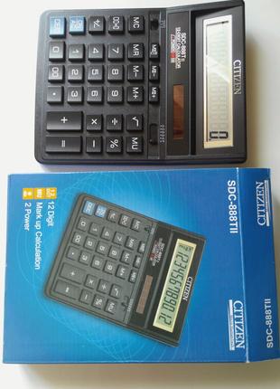 Калькулятор Citizen SDC -888X