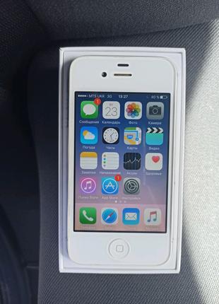iPhone 4s 8GB White Neverlock Оригинал