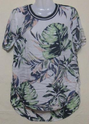 Блузка женская летняя с коротким рукавом. 46 р-р. дешево пог –...