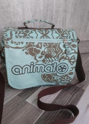 Качественная сумка с длинным ремнем animal