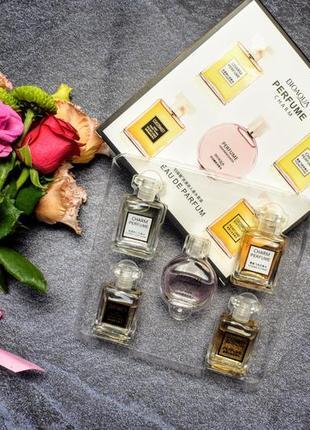 Подарочный набор парфюмов bioaqua perfume charm с цветочными и...