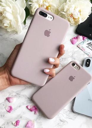 Силіконовий чохол на айфон apple silicone case для iphone
