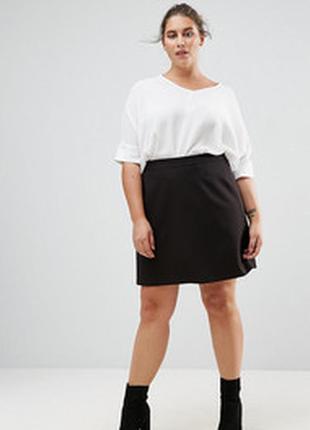 Новая юбка трикотаж 20/54-56 размера