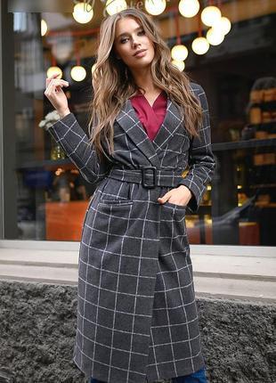 Пальто женское осень