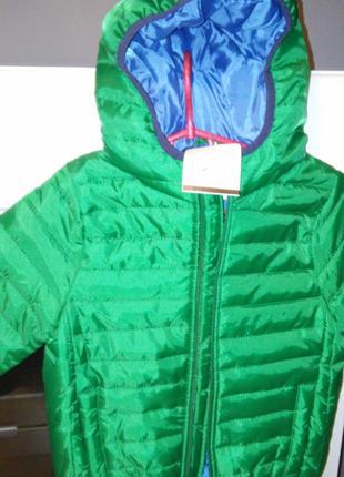 Куртка осенняя с капюшоном для мальчика