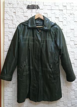 Куртка с капюшоном женская демисезонная