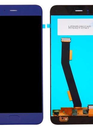 Дисплей Xiaomi Mi6 (со шлейфом сканера отпечатка пальца) с сенсор
